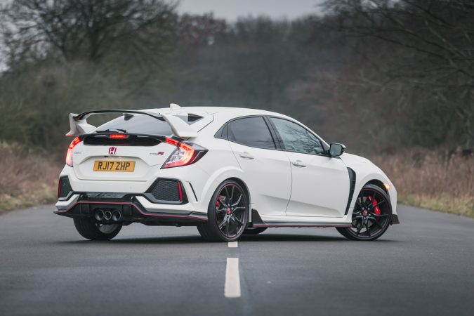 Honda Civic Type R FK8 GT - In Championship White Rear