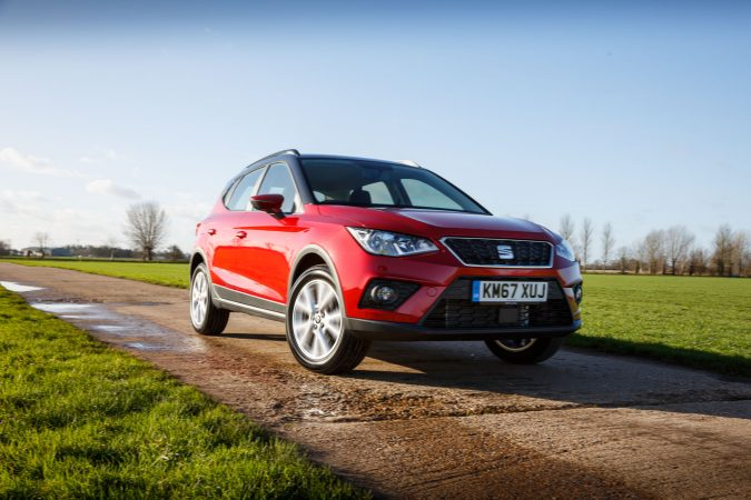 SEAT Arona SE Technology Driving 2018