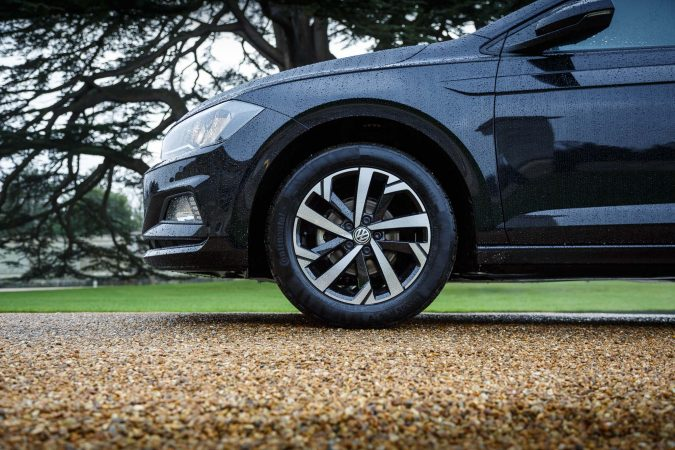 2018 Volkswagen Polo Beats Wheels front side on 16""