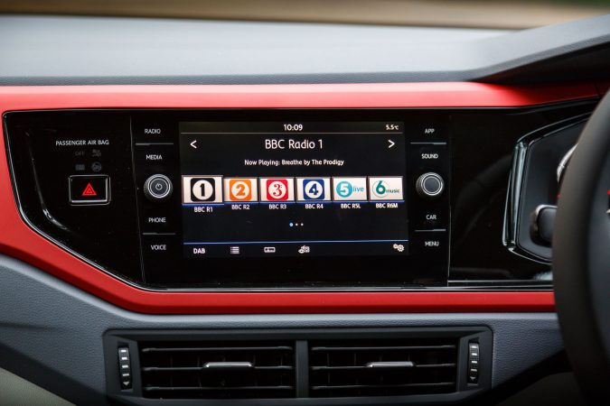 2018 Volkswagen Polo Beats Infotainment Screen