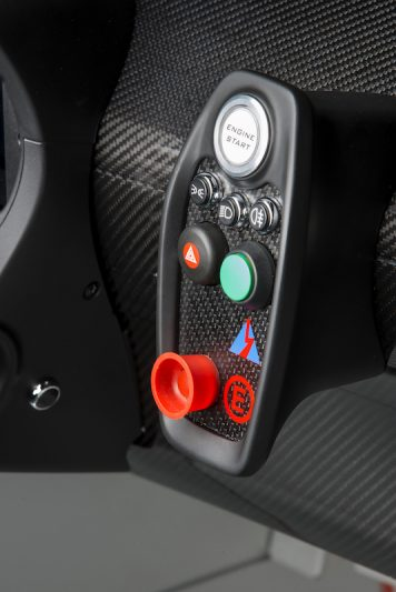 New Lotus 3-Eleven Start Button