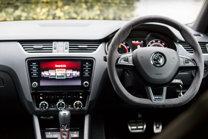 2018 Skoda Octavia vRS 245 - Perfect Car Interior