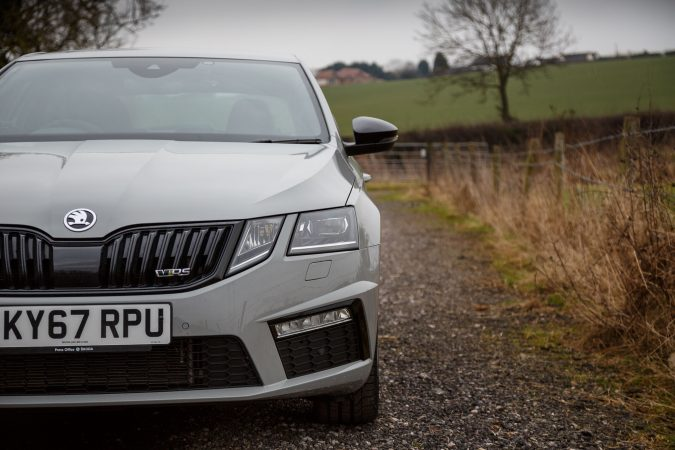 Skoda Octavia vRS 245 - LED Headlights