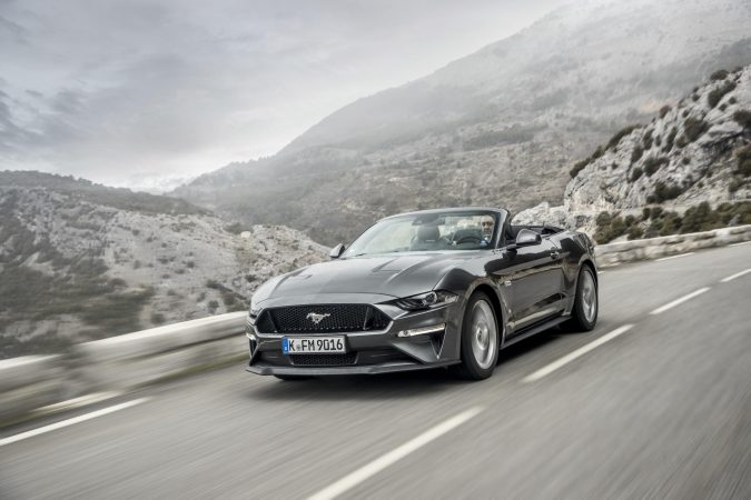 New Ford Mustang Grey