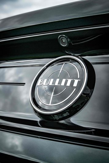 Ford Mustang Bullitt UK Logo