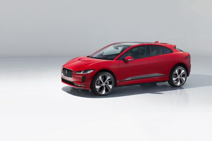 Jaguar I-Pace red