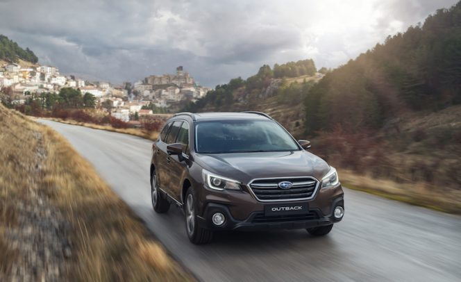 New Subaru Outback
