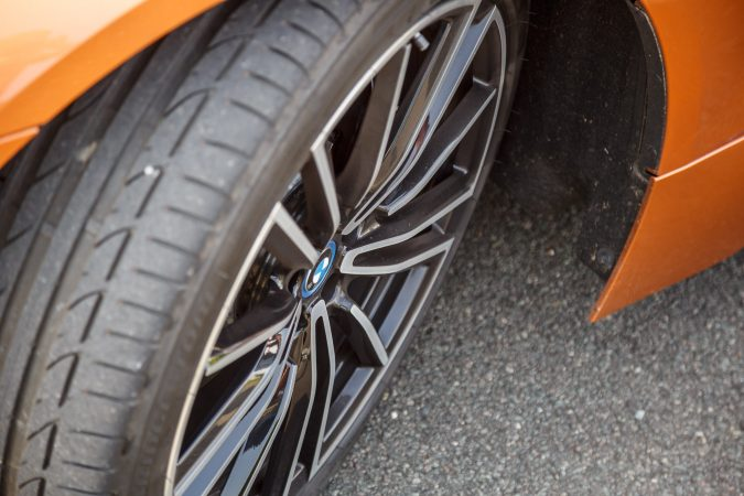 BMW i8 E-Copper Wheels and tyres