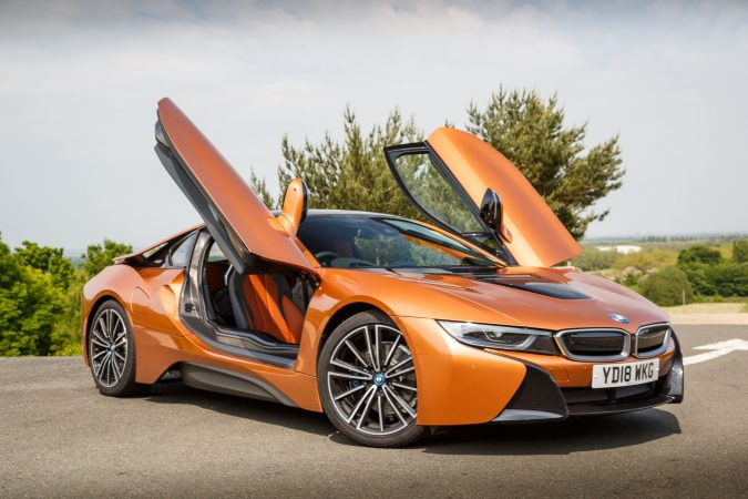 BMW i8 E-Copper