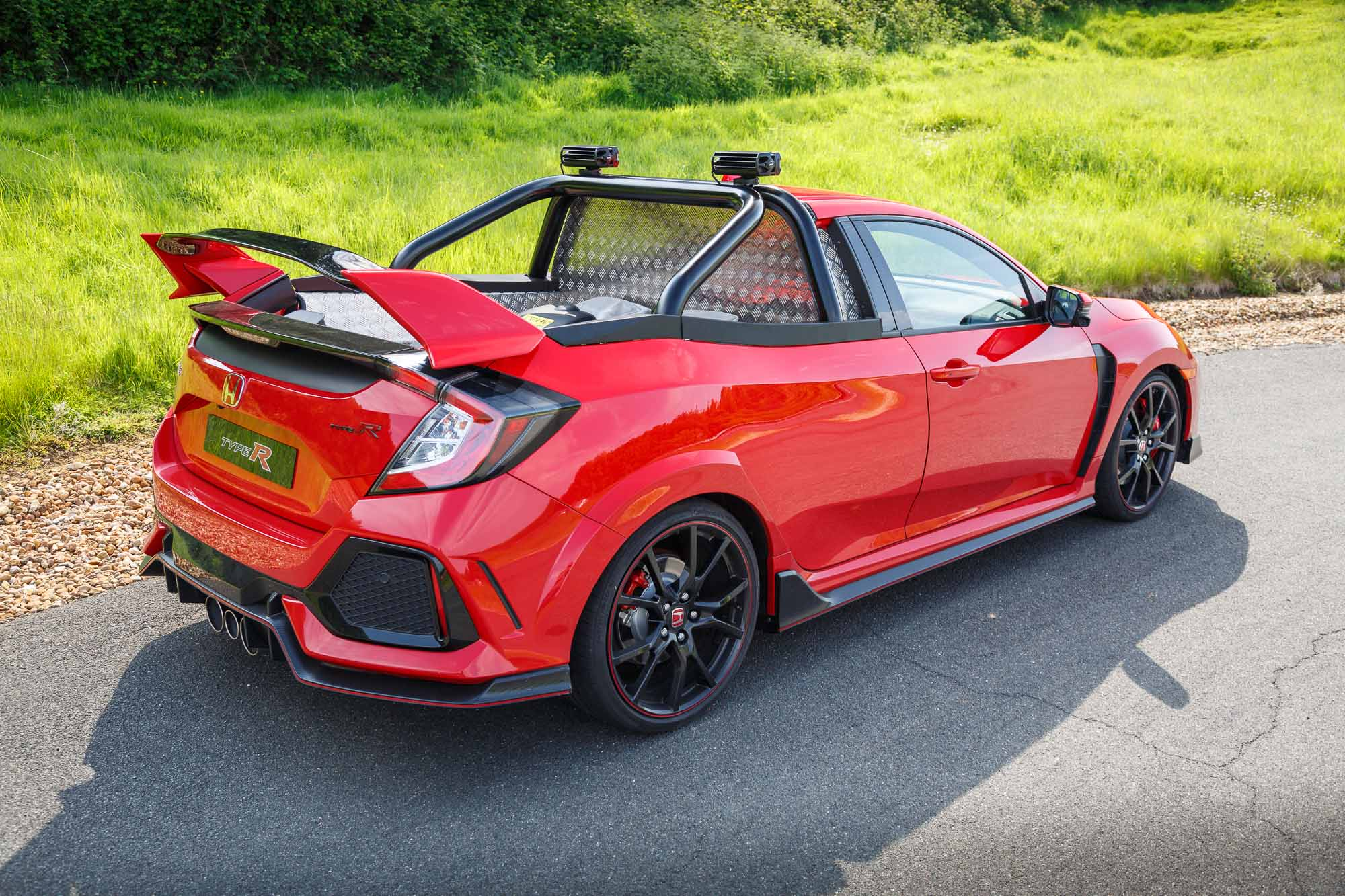 Honda Civic Type R Pickup Truck (165MPH And 0-62mph In