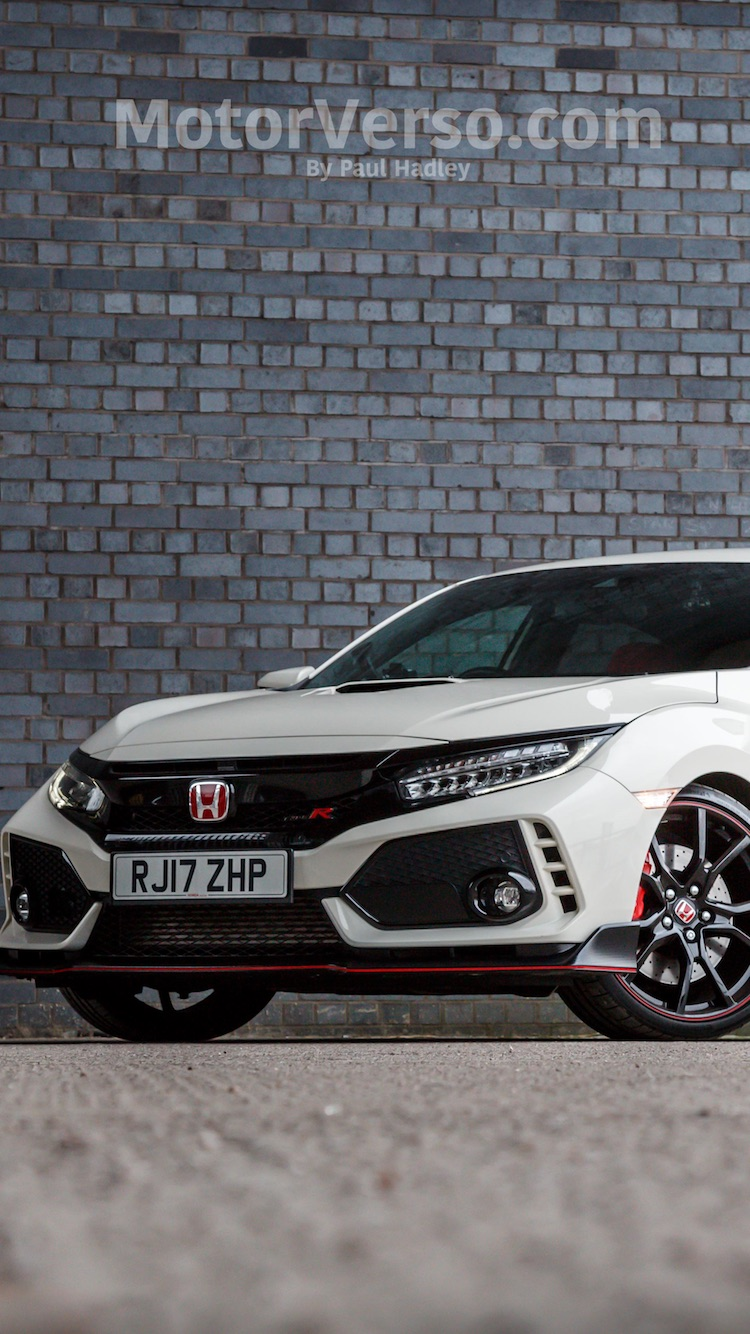 Honda Civic Type R Wallpaper Fk8 In Championship White