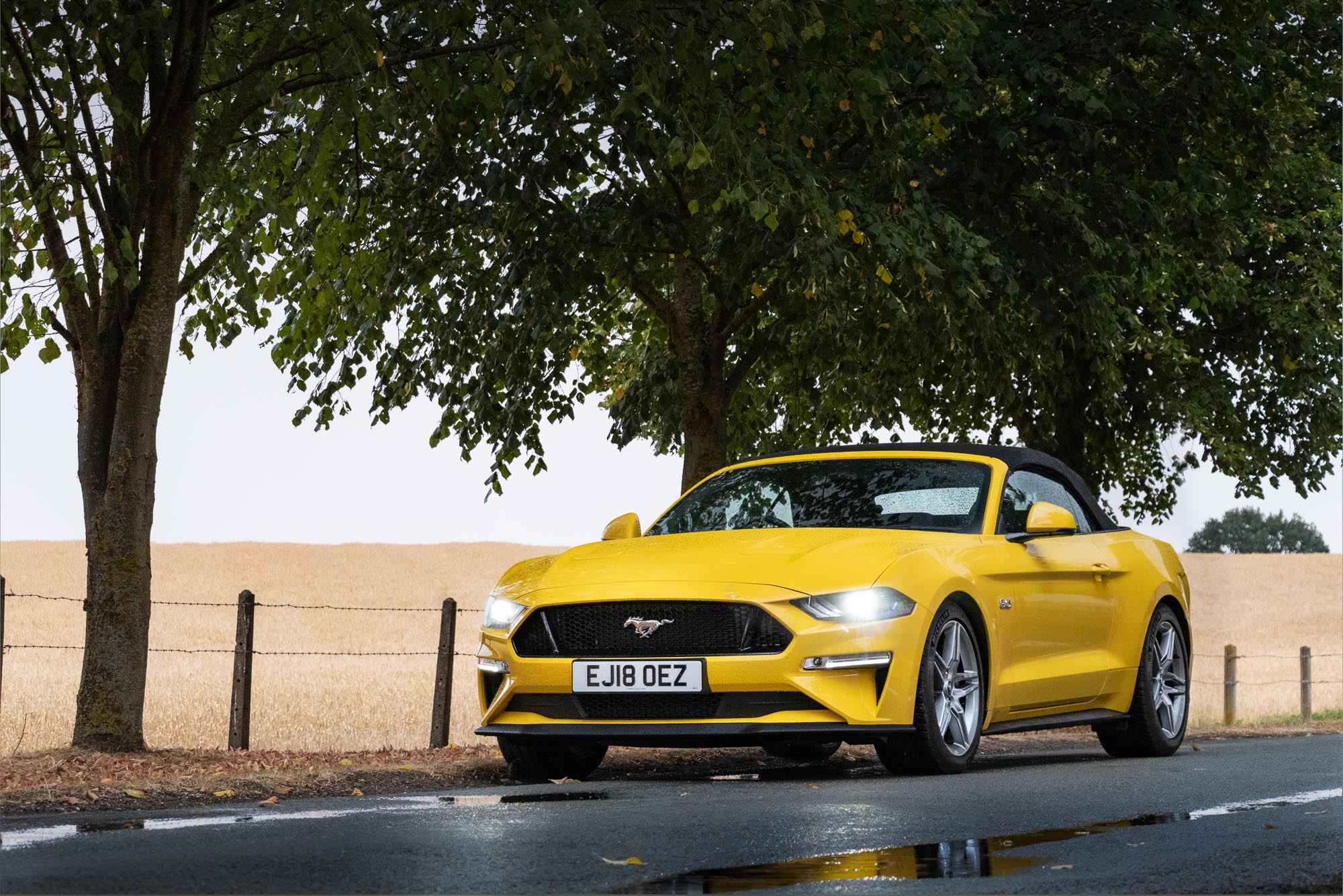 In right hand drive now the car has been updated for 2018 with new features further enhancing the ownership experience of the iconic ford mustang
