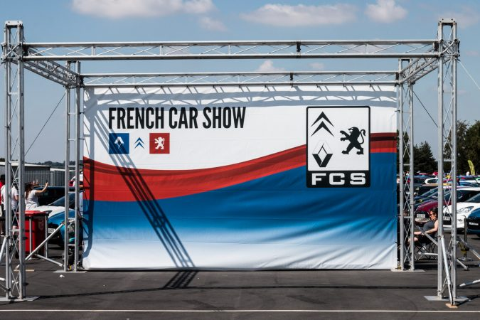 French Car show branding
