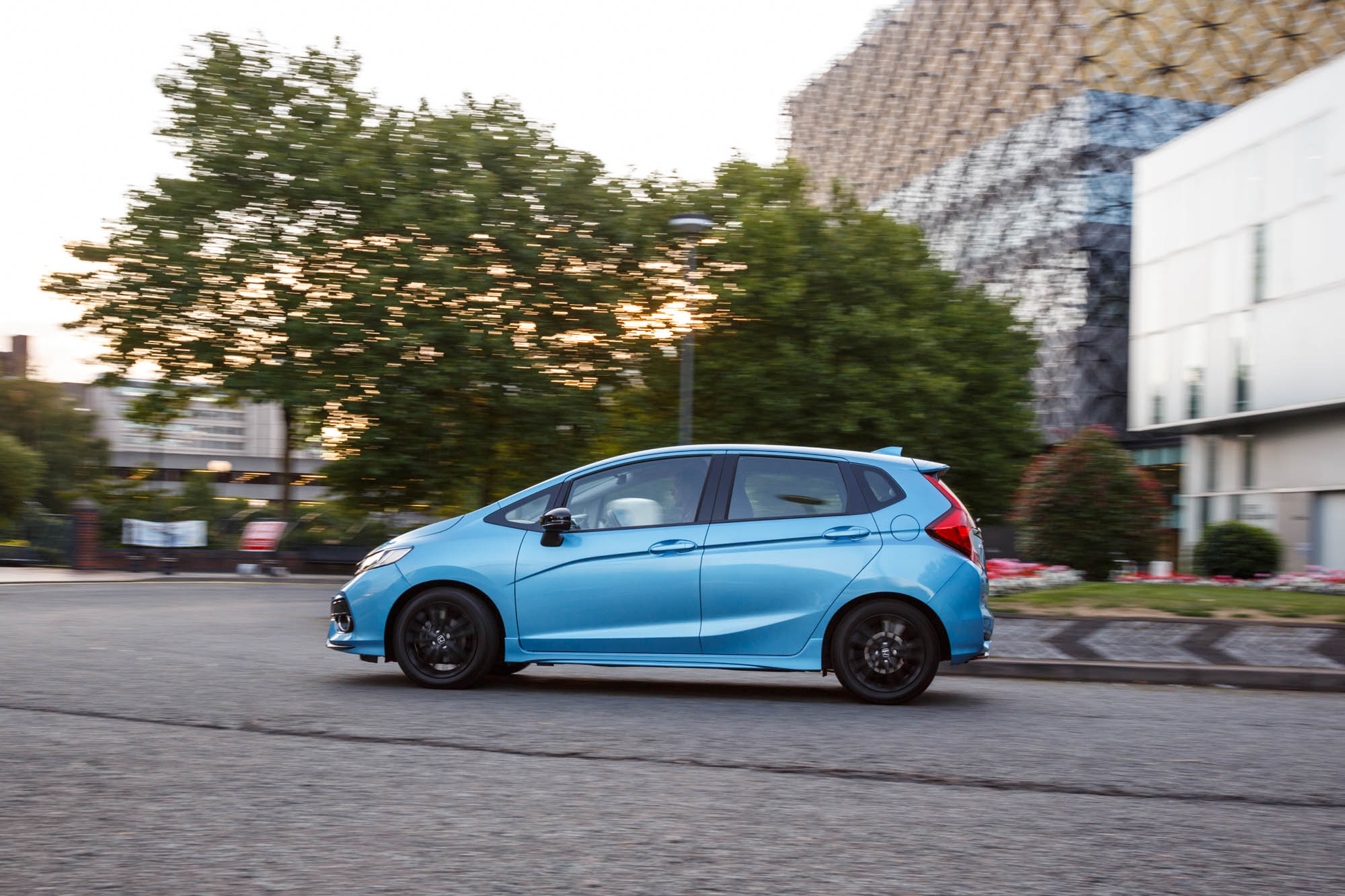 What really helps the Honda Jazz Sport out is the six-speed manual  transmission. It is very responsive to driver inputs, so you can shift  through the gears ...