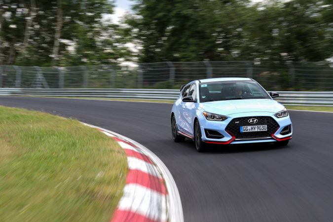 Hyundai Veloster N at Nurburgring