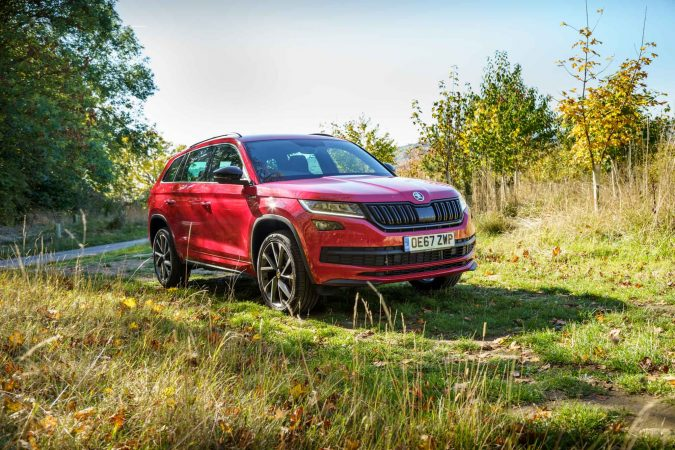 Red 2018 Sportline Skoda Kodiaq Review
