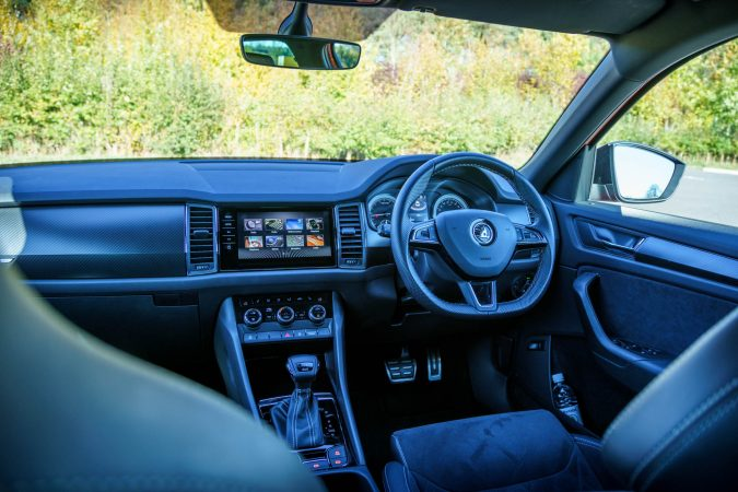 Interior Skoda Kodiaq Review 2018 Sportline