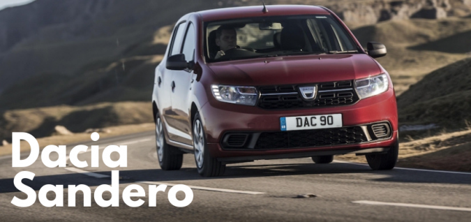 Cheapest New Car UK - Number 1 Dacia Sandero