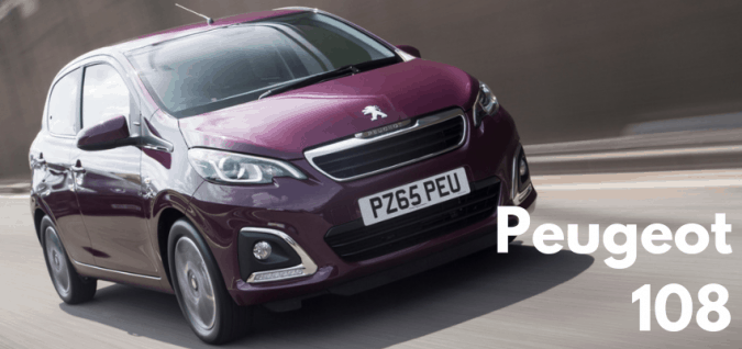 Cheapest New Car UK - Number 9 Peugeot 108