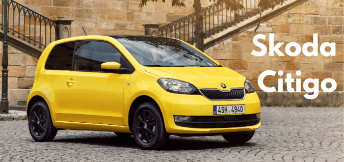 Cheapest New Car UK - Number 4 Skoda Citigo