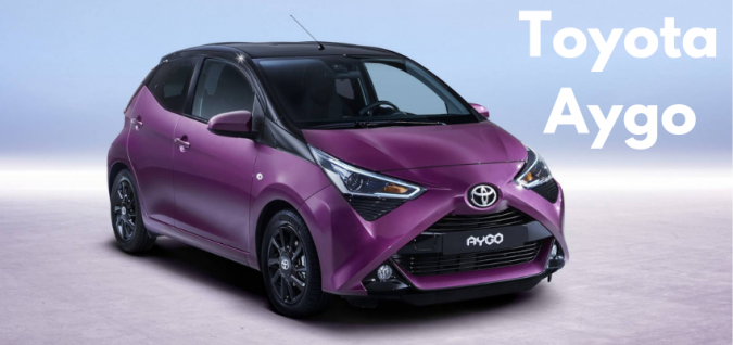 Cheapest New Car UK - Number 6 Toyota Aygo