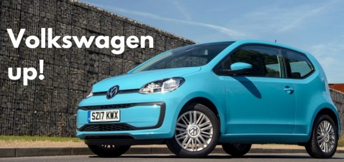 Cheapest New Car UK - Number 11 - Volkswagen up!
