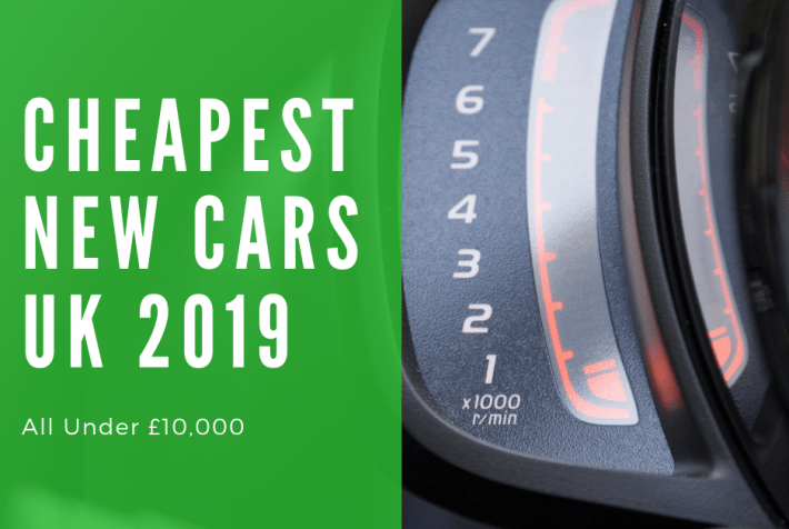 Cheapest New Car Uk 2019 Listing Full Prices Monthly Costs