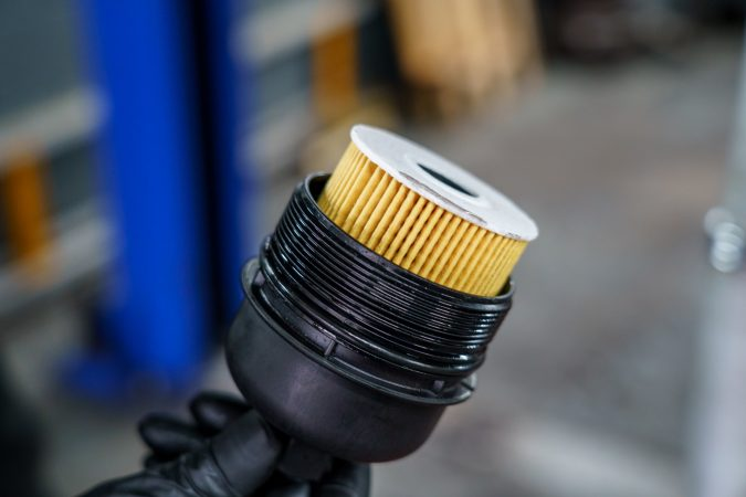 Replacing your oil filter can make sure engine oil remains clean.