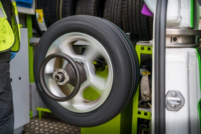 Poorly balanced or misaligned tires can cause uneven tread wear.
