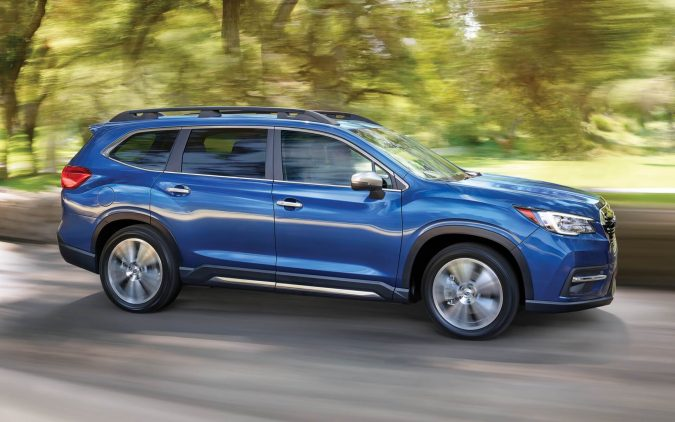 top 3 row suv Subaru