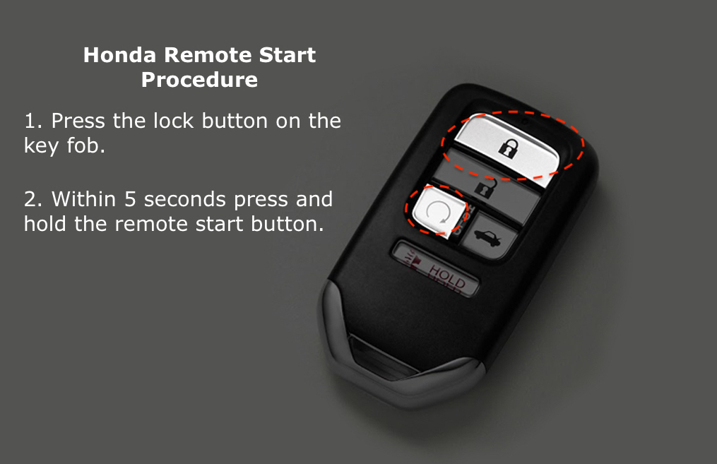 How To Use Remote Start >> Honda Remote Start 2 Steps To Remote Starting Your Civic