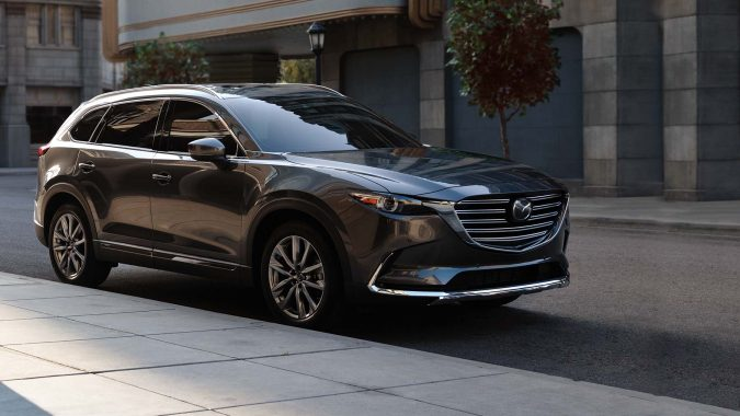 3rd row vehicles Mazda cx9