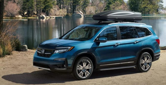 3 row vehicles Honda Pilot