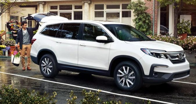 Honda Pilot - vehicles with third row seating