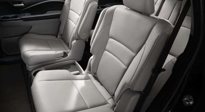 Honda Pilot cars with third row seating
