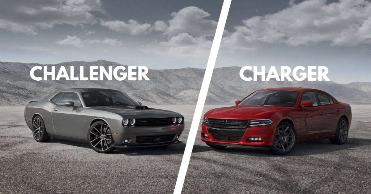 Dodge Charger Vs Challenger Differences Explained W Pics