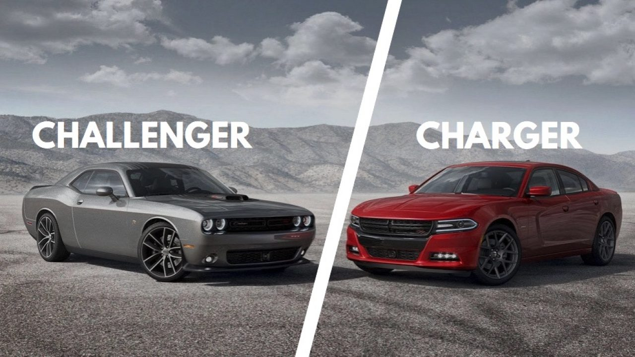 Charger Vs Challenger >> Dodge Charger Vs Challenger Here Are The Differences