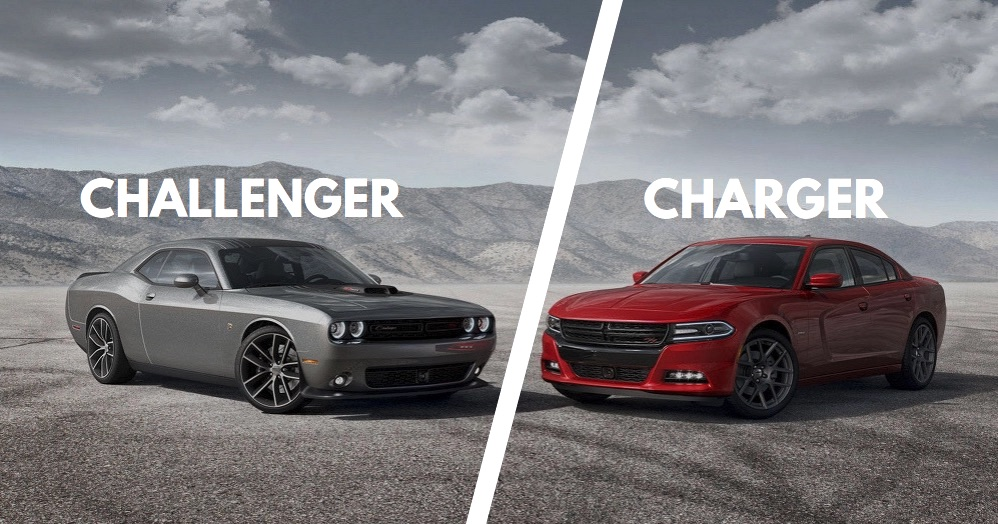 Dodge Charger vs Challenger Differences Explained wPics