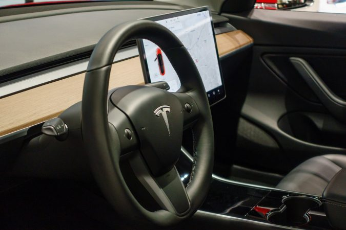 Tesla Model 3 Steering Wheel