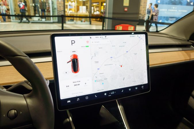 Tesla Model 3 UK Screen 15 inch