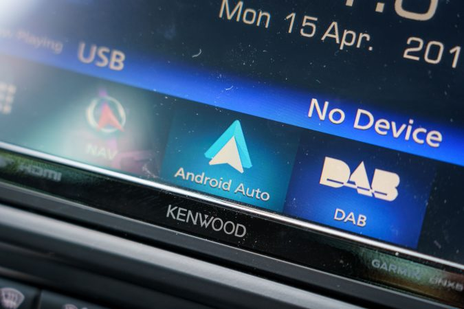 Kenwood DNX518VDABS Android Auto