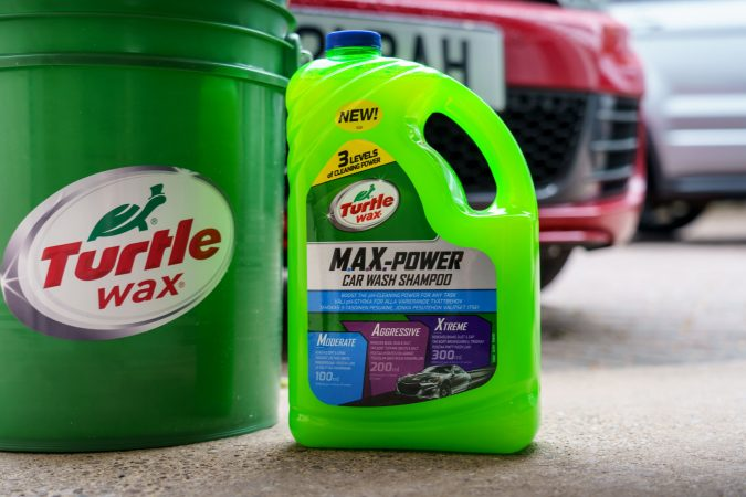 Turtle wax car shampoo - Restore Car Paintwork