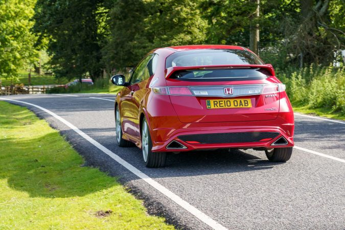 honda civic type r fn2 exhaust