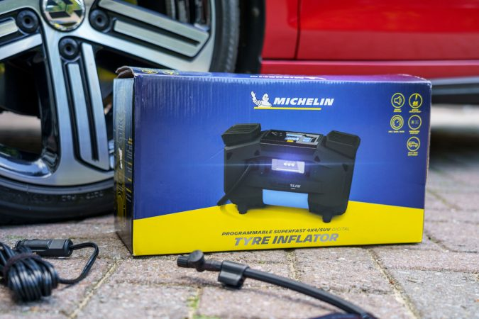 Michelin Tyre Inflator Box