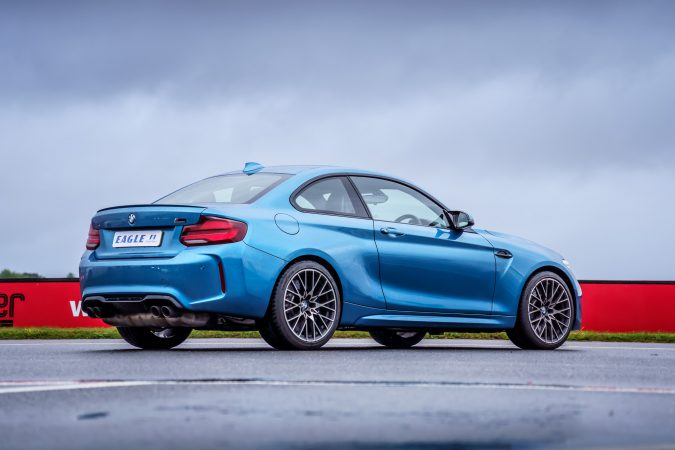 BMW M2 using 245/35/19 front and 265/35/19 rears Goodyear Eagle F1 SuperSport tyres