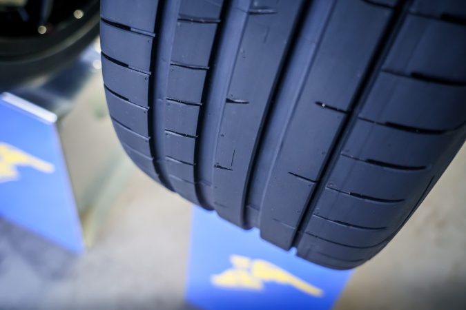 Goodyear Eagle F1 SuperSport demo tyre