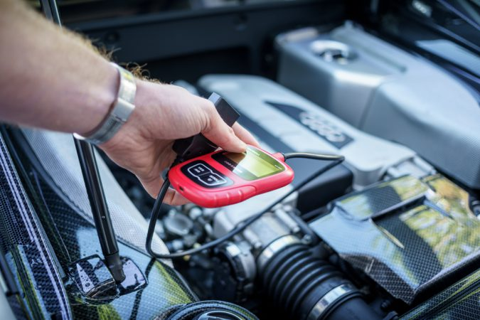 Reset Check Engine Light with OBD Scanner