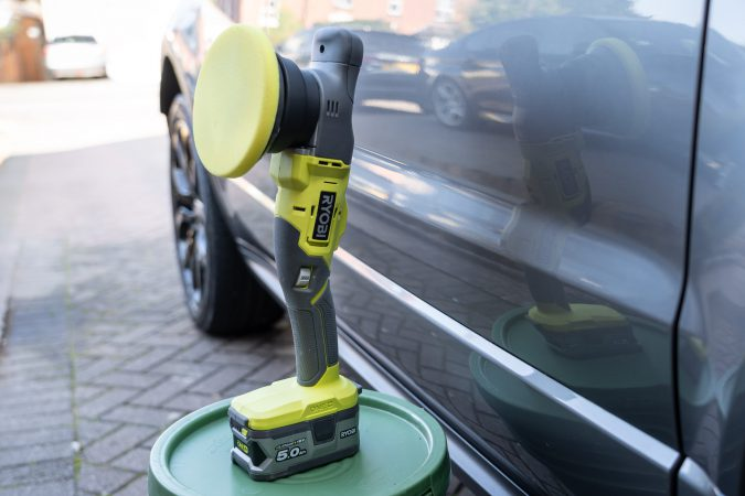 Ryobi Machine Polisher Yellow pad
