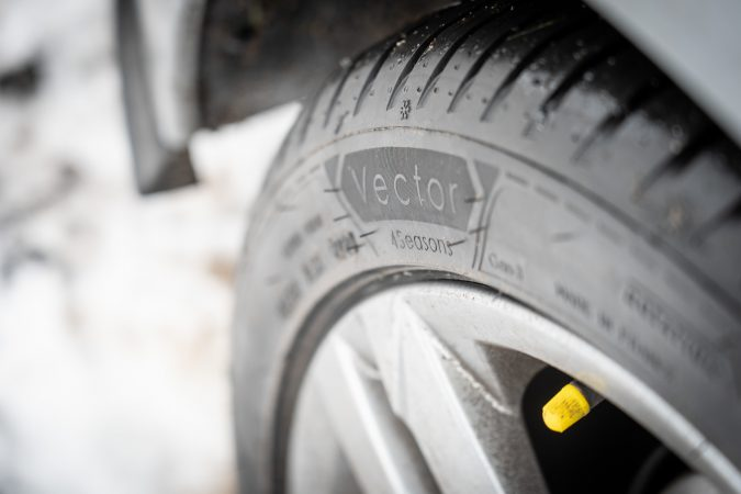 Goodyear Vector 4Seasons Gen 3 Close Up