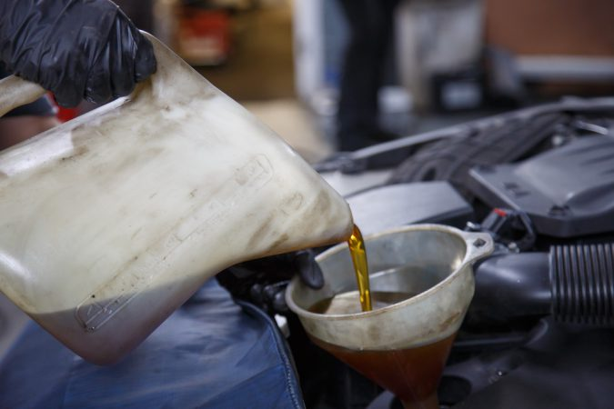 Power steering fluid can turn darkened, sludgy, or smell like its burnt if not changed.